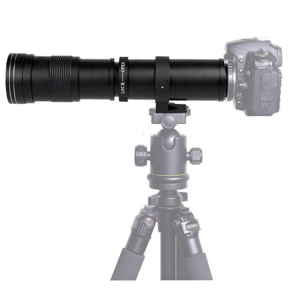 Professionnel 420-800mm zoom téléobjectif objectif pour TOUS NIKON DSLR Caméra D610 D5500 D5600 D3300 D3400 D7200 D3000 D3200 d5300 D5100