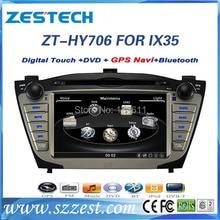 ZESTECH High performance dual-core HD digital touch screen Car Dvd player for Hyundai IX35 Car Dvd player with radio,RDS,3G