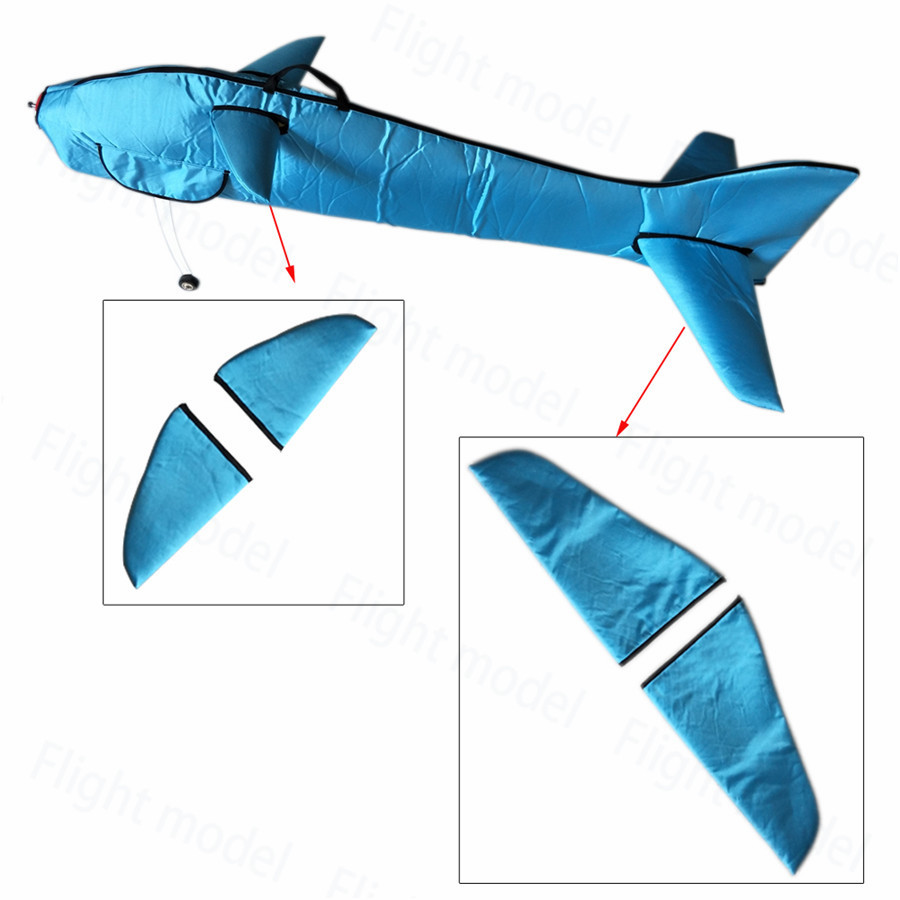 Flight Fuselage & Wing Protection Bags Customized For F3A 110E RC Model Plane Aircraft Blue flight model protection wing bag for 100cc rc gas airplane