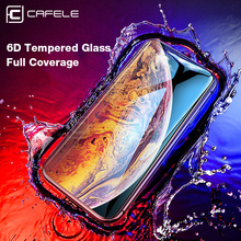 Get more info on the CAFELE 6D Screen protector For iPhone Xr Xs Max Tempered Glass 9H HD Clear Full Cover Protective Glass Film For iPhone xs