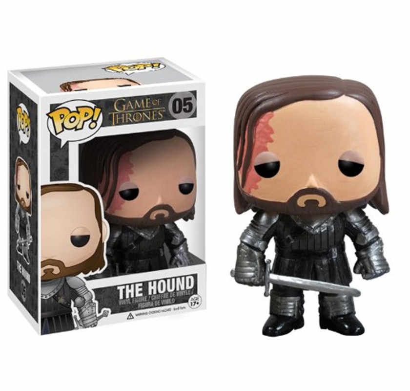FUNKO POP New Game of Thrones The Hound 05# Vinyl Action Figure Collectible Model Toys For Children Birthday Christmas Gift