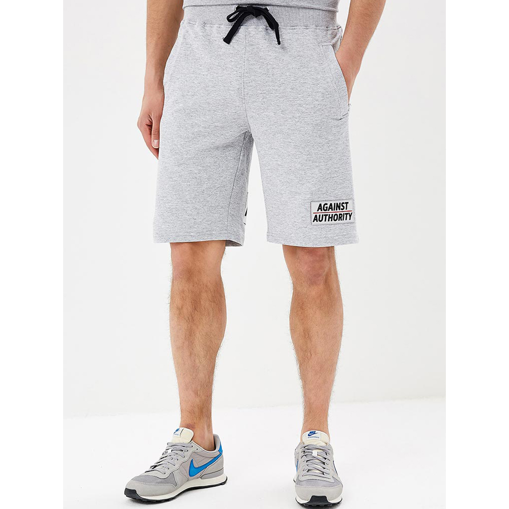 Casual Shorts MODIS M181M00289 men cotton shorts for male TmallFS casual summer ripped straight legs zip fly denim shorts for men