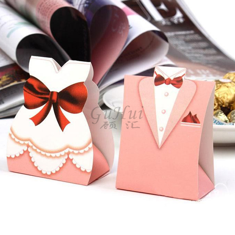 Romantic font b Wedding b font European Pink font b Bridal b font Bride Groom Tuxedo