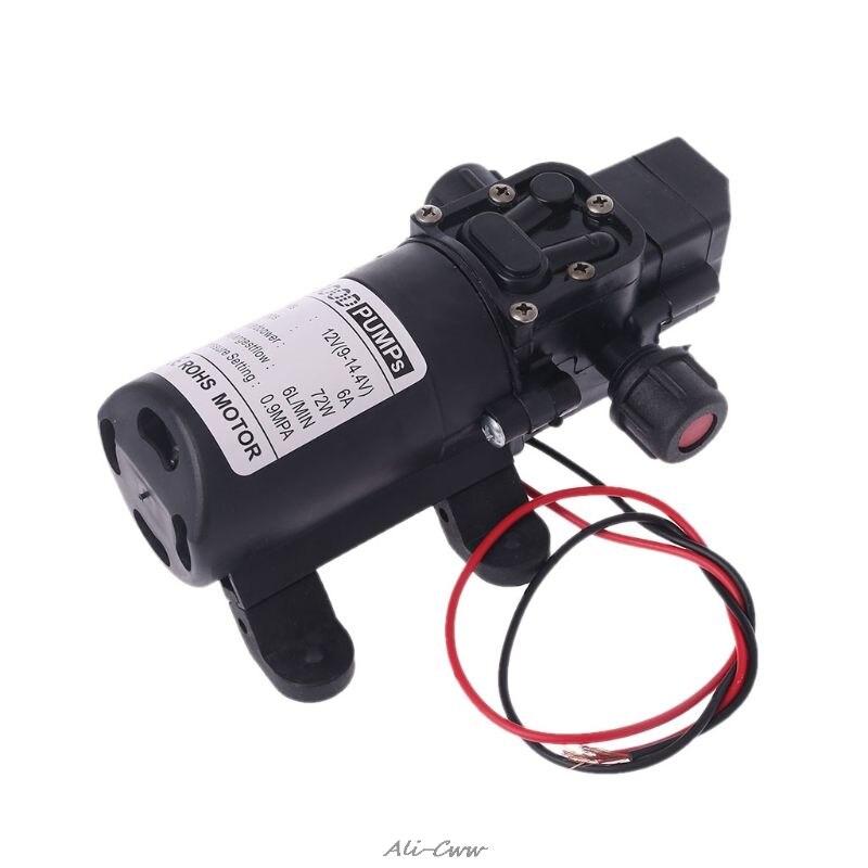 Image 2 - DC 12V 130PSI 6L/Min Water High Pressure Diaphragm Self Priming Pump 70W-in Pumps from Home Improvement