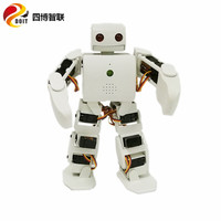 a complete set of DOIT 18 DOF vivi Humanoid Robot compatible with Plen2 for Arduino plen 2 robotic model kit freeshipping by DHL