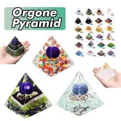 24 стиля Orgone Energy конвертер Orgonite Пирамида успокаивает камень душа, меняющий магнитное поле жизни Ювелирные изделия из смолы