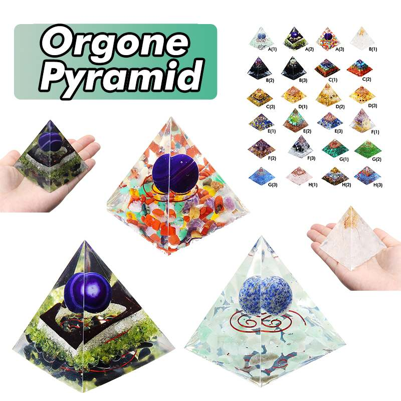 24 Style Orgone Energy Converter Orgonite Pyramid Soothe The Soul Stone That Change The Magnetic Field Of Life Resin Jewelry24 Style Orgone Energy Converter Orgonite Pyramid Soothe The Soul Stone That Change The Magnetic Field Of Life Resin Jewelry