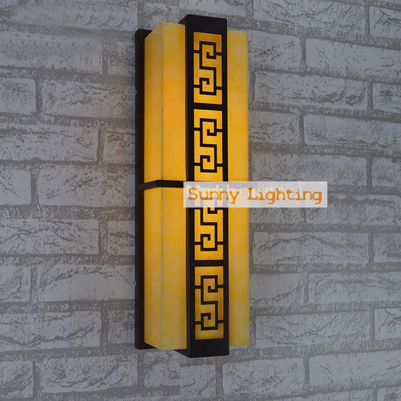 Cour étanche éclairage extérieur applique murale porche lumières mur extérieur lumières led bande applique murale T5 lampe de jardin fluorescente