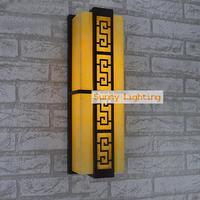 Courtyard waterproof outdoor lighting wall light porch lights wall outdoor lights led strip Wall lamp T5 fluorescent garden lamp