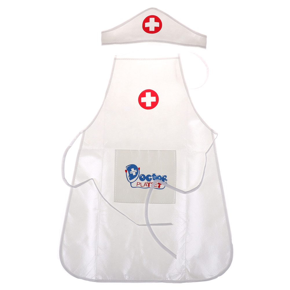 1 Set Clothing Hat Doctor Toys Children Play Role For Nurse Performing Birthday Gift
