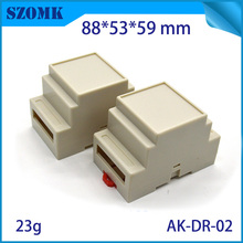 2 шт./партия, 88*53*59 мм din-рейка electronicd корпус 53x88x60 Пластиковая распределительная коробка 2 Din