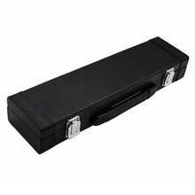 Portable Box Leather for Flute with Buckle Foam Cotton Padded