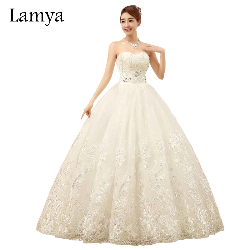 Buy lamya real photo embroidery for Cheap wedding dress stores