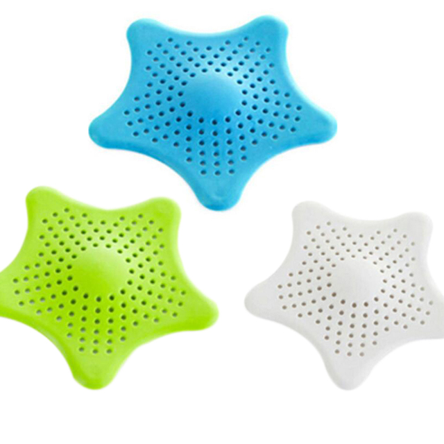 1Pc Sewer Outfall Strainer Sink Filter Anti-blocking Floor Drain Hair Stopper Catcher Kitchen  Accessories Bathroom Products 3