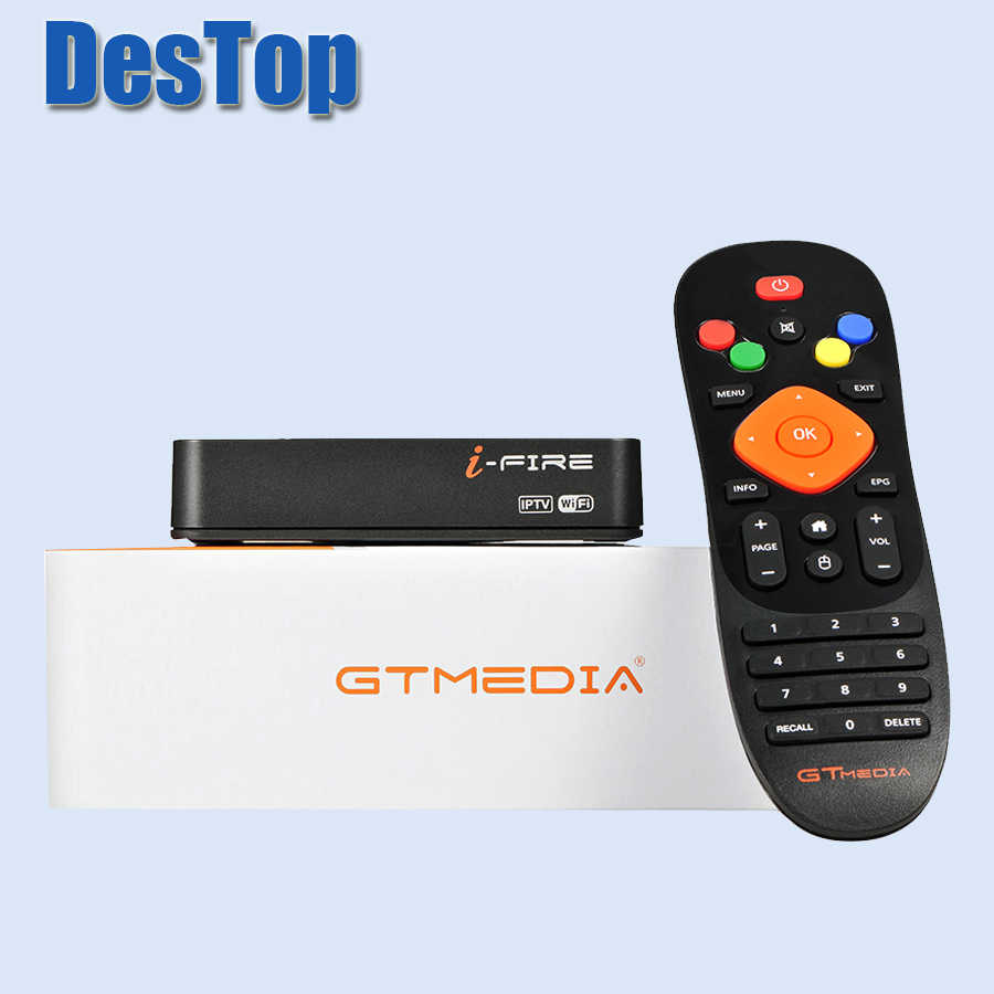 5Pcs Gtmedia Ifire Iptv Box Digitale Set Top Box Tv Decoder Full Hd 1080P (H.265) ingebouwde Wifi Module Ondersteuning Voor Xtrem