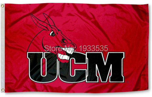 b698c5a2200 University of Central Missouri Mules Flag UCM Large Banner Flag 3  x 5   Banner