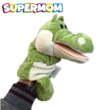Baby Cartoon Animal Finger Puppets Infant Hand Puppet Plush Toys Child Kids Favor Dolls Educational Story Telling Puppet Theater(China)
