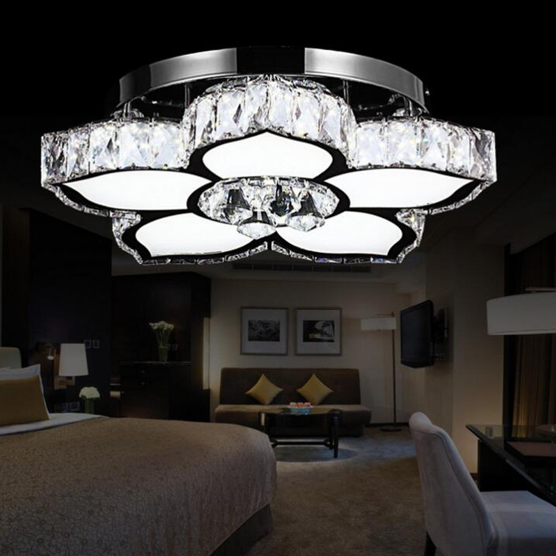 Modern Ceiling Light Dinner Room Pendant Lamp Kitchen: Led Modern Crystal Pendant Lights Retro Ceiling Lamp