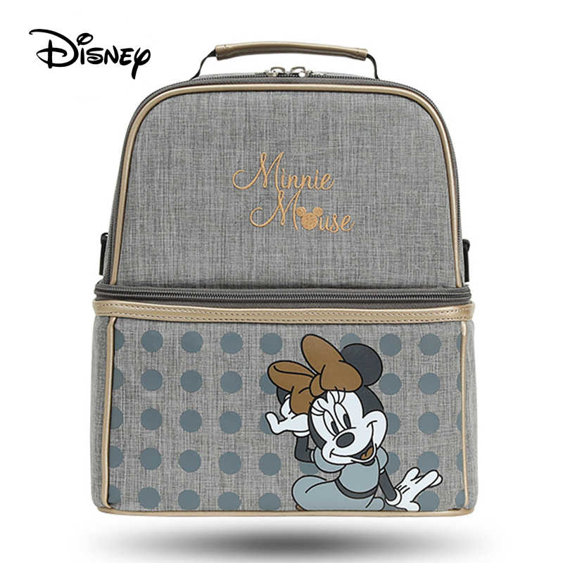 Disney  diaper bag mummy bag baby bags for mom Handbag bottle diaper maternal and child package diagonal cross-back milk bag