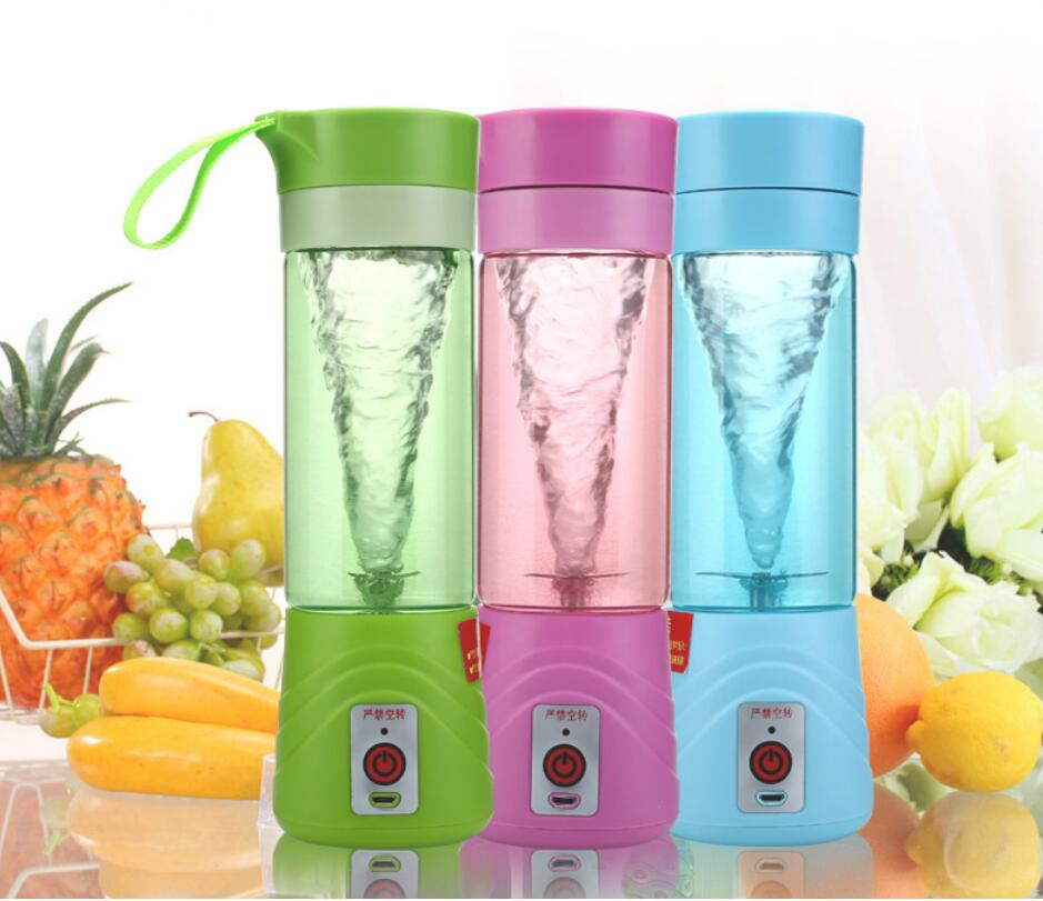 Electric Fruit Juicer Machine Mini Portable USB Rechargeable Smoothie Maker Blender Shake And Take Juice Slow Juicer shake n take blender