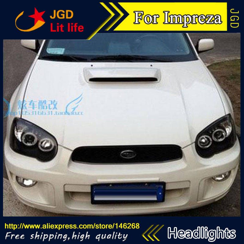 Auto Part Style LED Head Lamp for Subaru Impreza WRX 2004 2005 2006 led headlights drl hid Bi-Xenon Lens low beam auto lighting style led head lamp for mazda 3 axe headlights for axela led angle eyes drl h7 hid bi xenon lens low beam