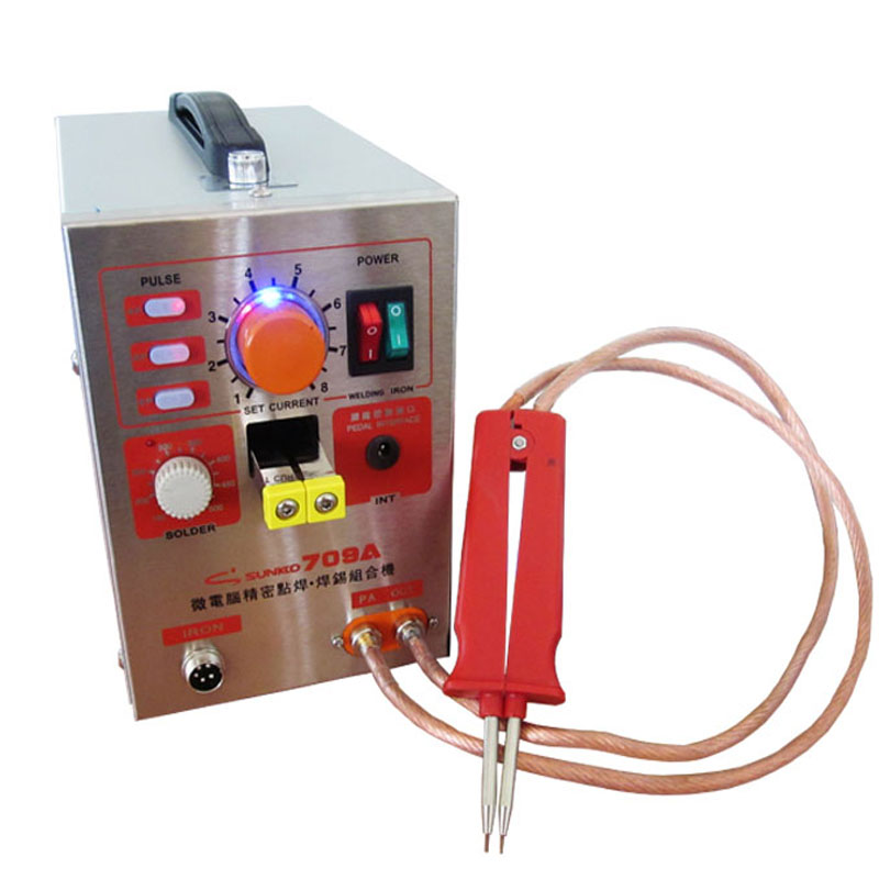 1pc S709A 1.5KW High Power Spot Welder & Soldering Station with Universal welding pen FOR battery welding and sodering haft 214190