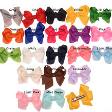 120pcs Grosgrain Band Hair Bows Casual Bowknot Alligator Clips Fancy Bowknot Fashion Hair Accessories Hair Clips Cute Barrette(China)