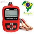 12 V Batería de Coche Tester Ancel BST200 Digital Display con Portugués Turco Multi Idiomas 1100CCA Probador Capacidad de La Batería
