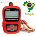 12V Car Battery Tester Ancel BST200 Digital Display with Portuguese Turkish Multi Languages Battery Capacity Tester 1100CCA