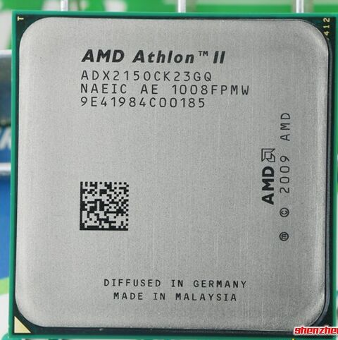 original AMD Athlon II X2 215 2.4 GHz Dual-Core Socket AM3 Desktop CPU Processor scattered pieces Dual-core processor