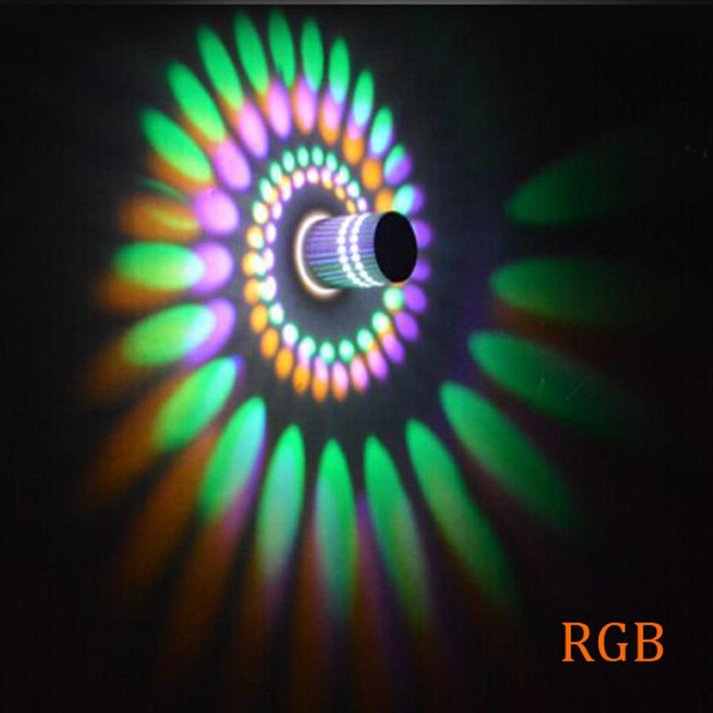 1 stücke wandleuchte Led Wandleuchte lampe 3 Watt 85-265 V 110 V/220 V für KTV Karaoke Bar Decor Wohnzimmer Restaurant Café innenraum HL