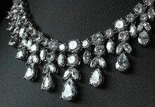 Luxury Sparking Brilliant Cubic Zircon Jewelry Set (3 colors)