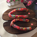 2017 Summer women flip-flops sandals Japanese geta wooden slippers Clogs shoes woman Cosplay costumes shoes sandalias mujer
