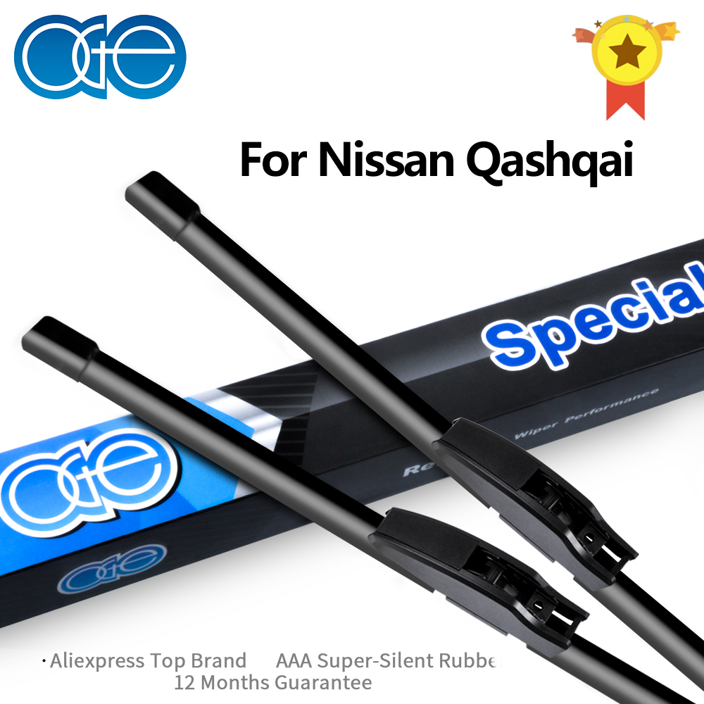 Oge Wiper Blades For Nissan Qashqai J10 J11 Model Year 2006 -2018 High Quality Auto Windscreen Car Accessories