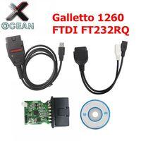FTDI FT232RQ Galletto 1260 ECU Chip Tuning Tool EOBD/OBD2/OBDII Flasher Galletto1260 ECU Flasher ECU motor tuning werkzeug