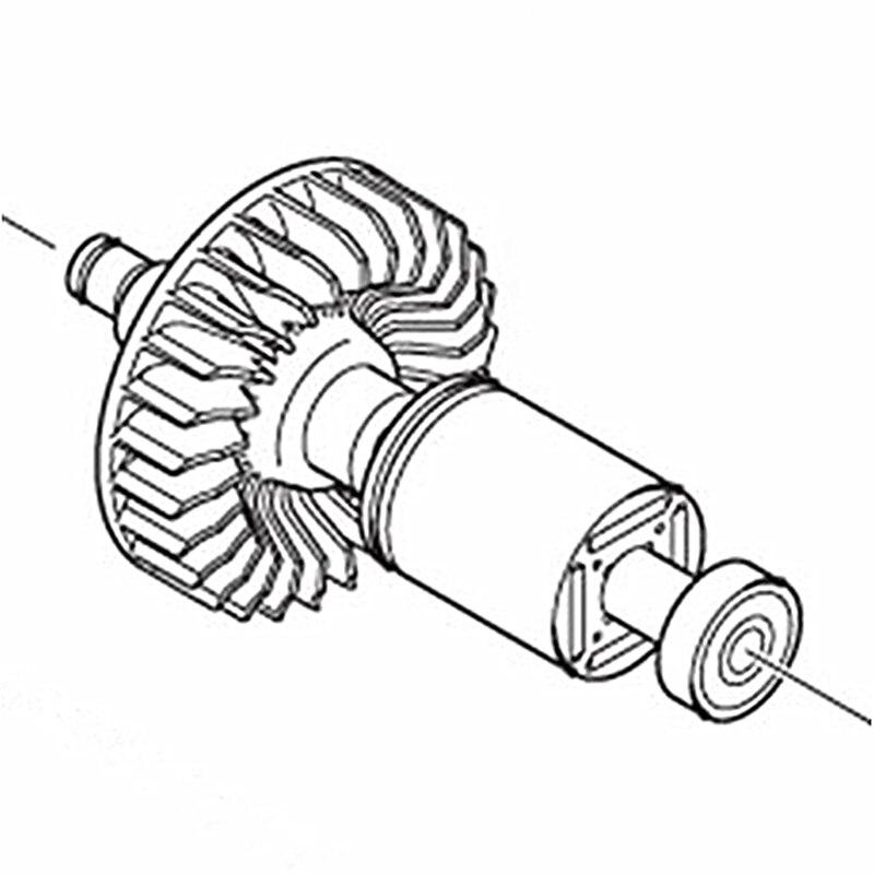цена на ARMATURE 220V-240V Rotor 337398 For Hitachi CV18DBL CV14DBL