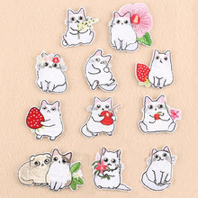 Many Animal Flower Repair Patch Embroidered Iron On Patches For Clothing Close Shoes Bags Badges Embroidery DIY