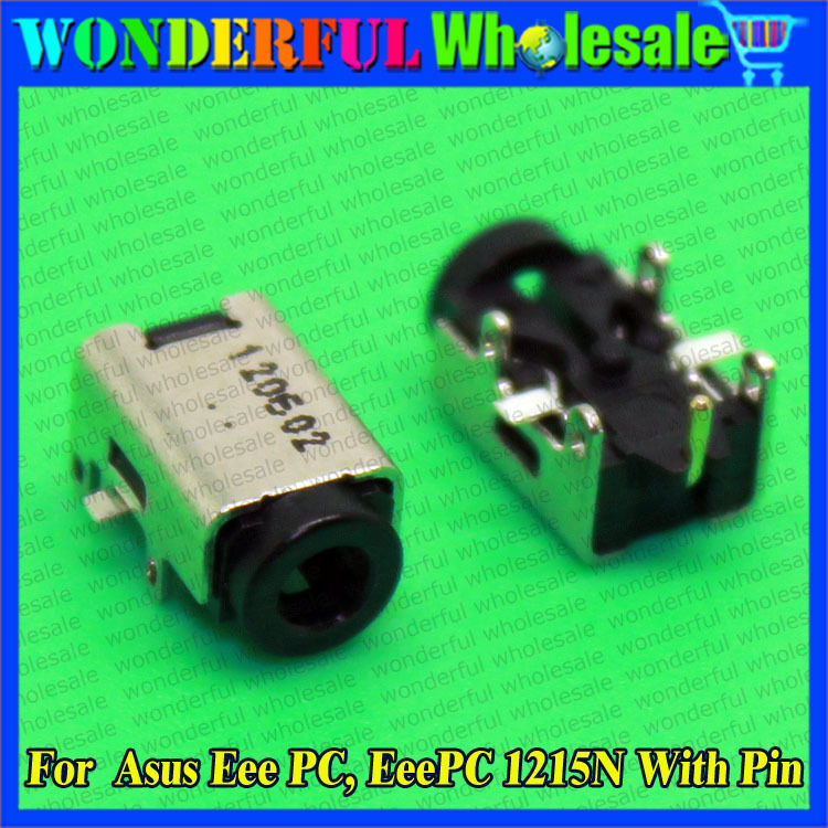 DC Power Jack Socket Port Connector DC131 For Asus Eee PC, EeePC 1215N With Pin DC Jack