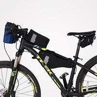 Roswheel Sahoo Serie Bike Fahrrad Radfahren Sattel Tasche Hinten Sitz Tasche Top Rohr Front Rahmen Tasche Dreieck Pannier Pack-in Fahrradtaschen & Koffer aus Sport und Unterhaltung bei