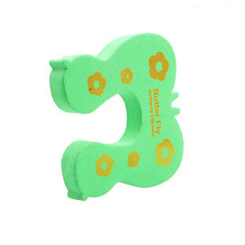 4 шт./компл. безопасности ребенка Цвет ful мизинце протектор Детские помощник для безопасности дверной стоппер Палец щипка замок разные цвета