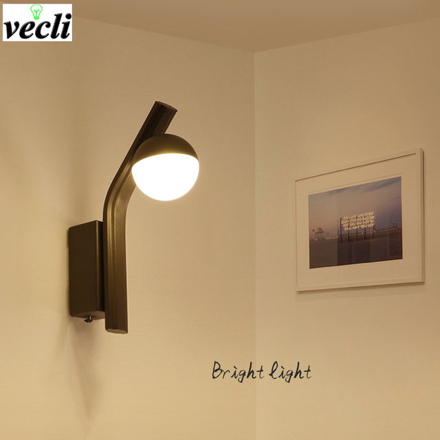 Modern Simplicity Led Wall Lamps Bedroom Bedside Lamp Reading Aisle Sconce Corridor Light Bra Ac 90 260v