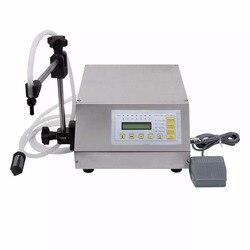 110V Numerical Control juice filling machine(3-3000ml), Liquid filler GFK-160