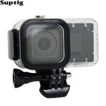 Suptig Cho GoPro 4 Phiên Điện Mở Rộng Pin 1050 mah Pin Hero4 Phiên Không Thấm Nước Trường Hợp nhà ở Box Cho GoPro Phụ Kiện