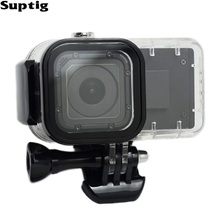 Suptig For GoPro 4 Session Power Extend Battery 1050 mAH Battery Hero4 Session Waterproof Case housing Box For GoPro Accessories