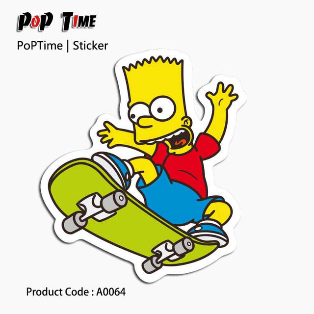 A0396 Dibujos álbum Libro De Ejercicios Para Niños Anime Funny Cartoon Decoración Casera Wall Car Skateboard Tronco Recuerdo Juguetes