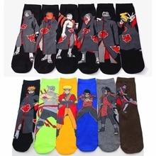 Носки для косплея из серии аниме «Наруто», хлопковые носки «Наруто», носки для мужчин, повседневные забавные носки, носки в подарок