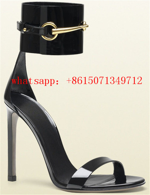 3299ad528477 Summer Brand Designer Ladies Sandals Open Toe High Heels Shoes 2015 New  Arrival Woman Sexy gladiator wide ankle strap Sandals