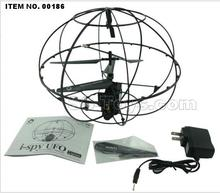 Free shipping New Happycow 777-289wifi iphone remote real-time traion flyball wifi UFO i-spy UFO 3.5CH RC helicopter FSWBnsmiss