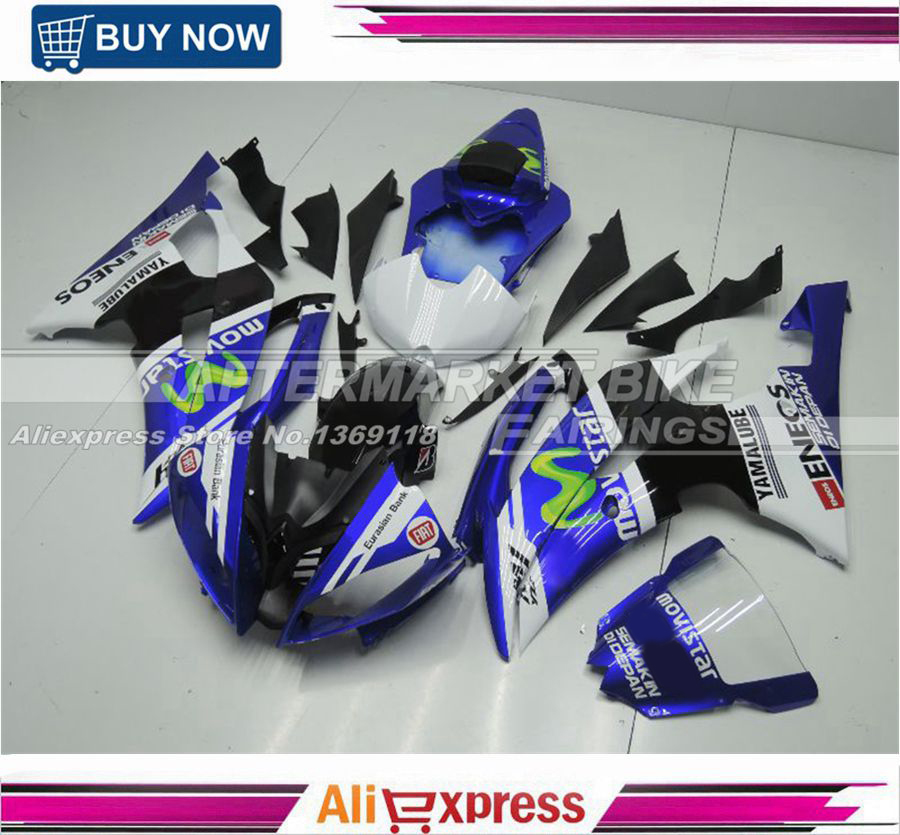 ABS Version OEM Fitment Superbike Fairing <font><b>Kits</b></font> For <font><b>Yamaha</b></font> YZF <font><b>R6</b></font> 2008-2014 <font><b>Body</b></font> <font><b>Kits</b></font> image