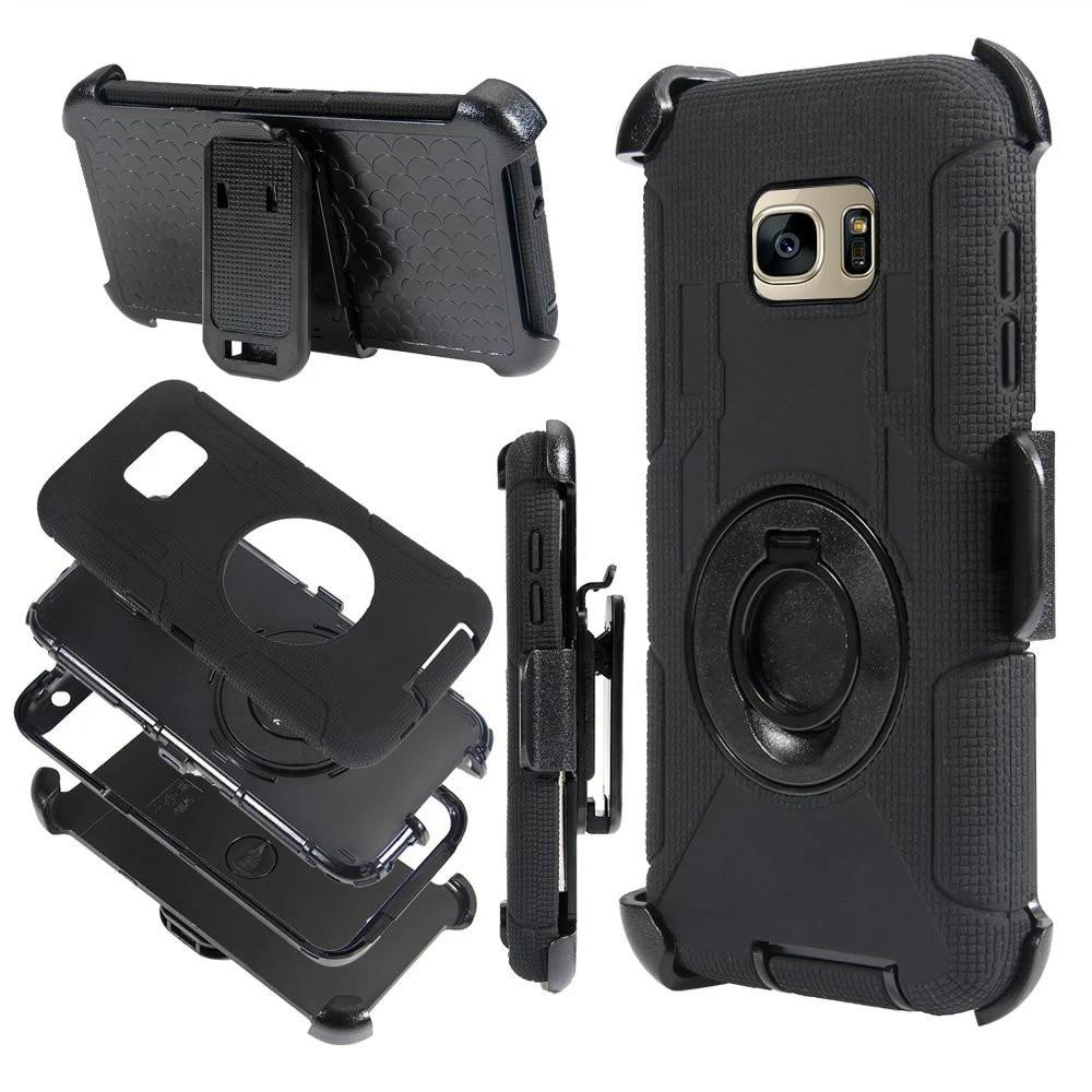 For Samsung Galaxy Note 4 Case Heavy Duty Rugged Armor Coque For Samsung Note 4 Cover Note5 Note 3 Case Belt Holder Shockproof